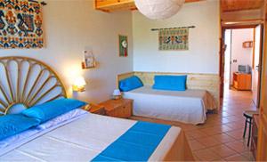 Hotel auf Sardinien:  Die Zimmer