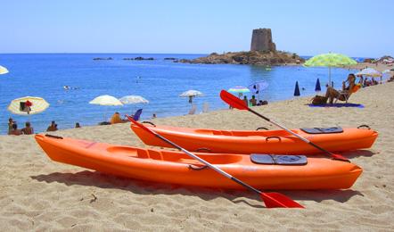 Servizi Hotel: noleggio canoe