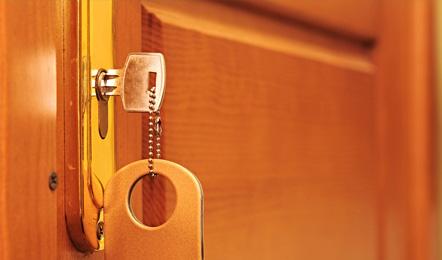 Hotel services: Room keys