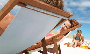 Hotel en Cerdeña: Servicio en la playa