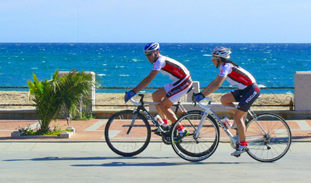 Hotel services: Bicycle rental