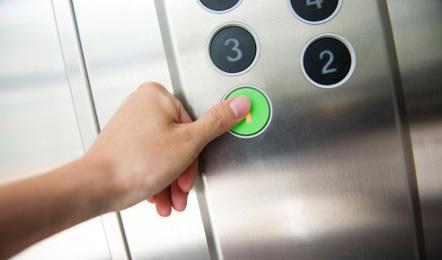 Serviceleistungen im Hotel: Fahrstuhl
